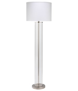 Vanderbilt Nickel Floor Lamp
