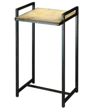Small Steel Velum Side Table