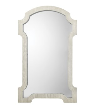 Estate Mirror, Grey Washed Wood