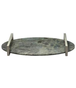 Framework Oval Tray, Labrador