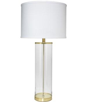 Rockefeller Lamp, Brass