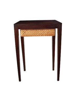 Mahogany Singer Side Table