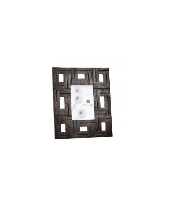 Chocolate Teak Patterned Frame, 5x7