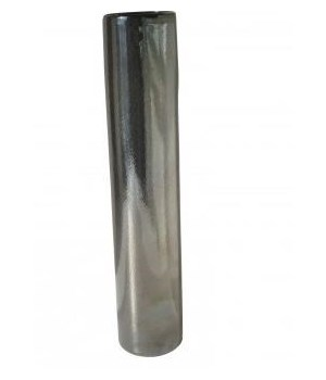 Tarnished Metallic Pillar Vase, Lg