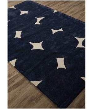Grammercy Kate Spade Crazy Dot Navy 5x8