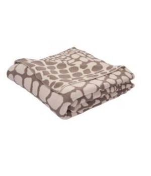 National Geographic Taupe Gray/Turtle Dove 50x60 Throw