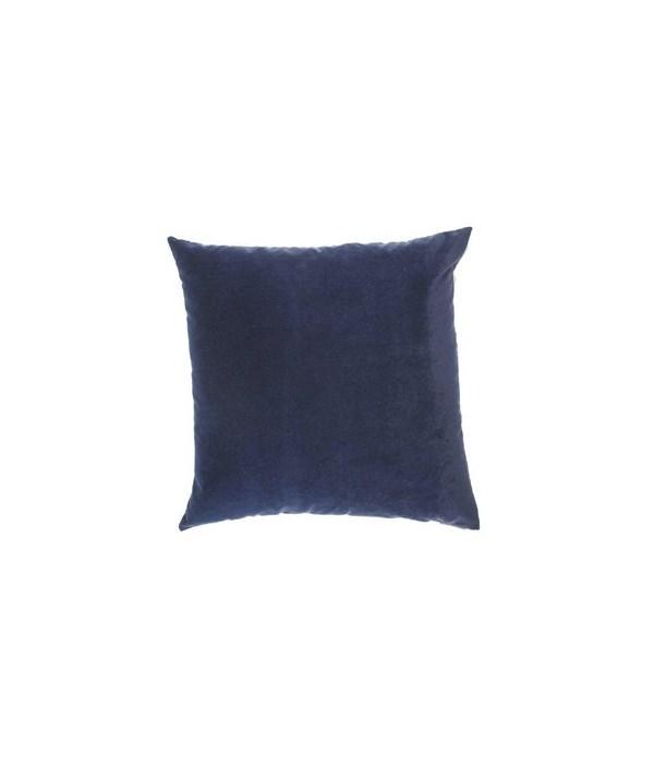 Bella Square Blue Pillow