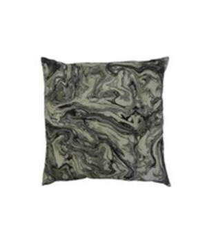 Marblized Square Zinc Pillow
