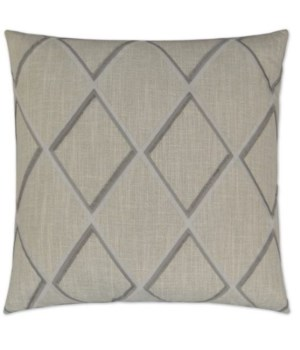 Markham Square Grey Pillow