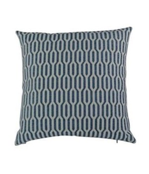 Ingrid Square Indigo Pillow