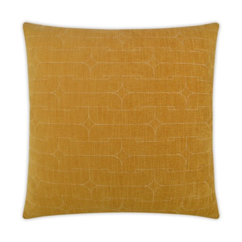 Unchained Square Mustard Pillow