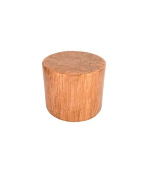 Button End Table, Von Braun Finish