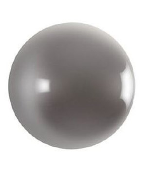 Ball on the Wall, Polished Aluminum, XS
