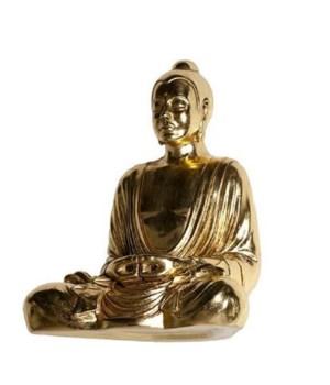 Levitated Buddha, Gold Leaf