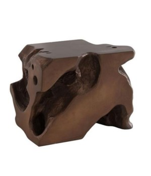Freeform Stool, Bronze, Large
