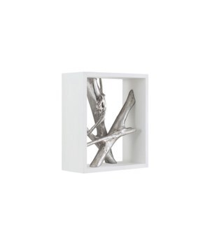 Framed Branches Wall Tile