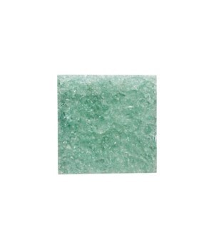 Cracked Glass Wall Tile, Clear Green, Small