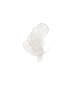 Butterfly Wall Art, White, Small