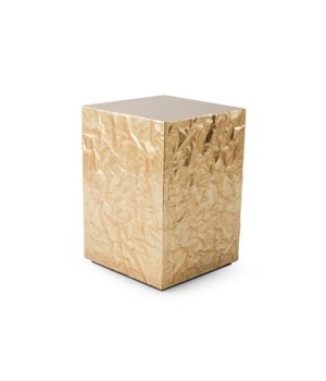 Crumpled Pedestal, Gold, Small
