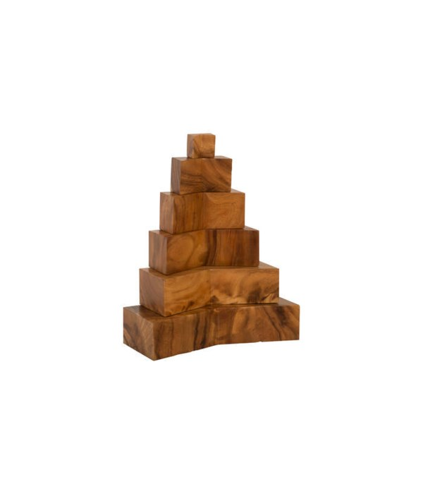 Stacked Sculpture, Natural