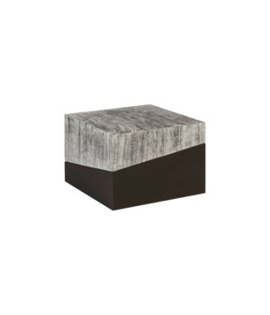 Geometry Coffee Table, Grey Stone