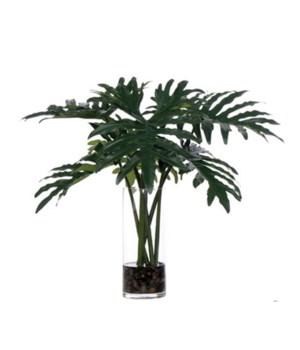 """Large Selloum Leaf Waterlike, 32"""""""