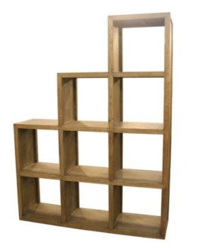 Step Display Shelf, S/3