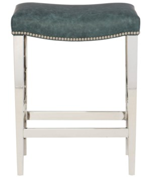 Thorpe Counter Stool, L504-001, #10 Nickel