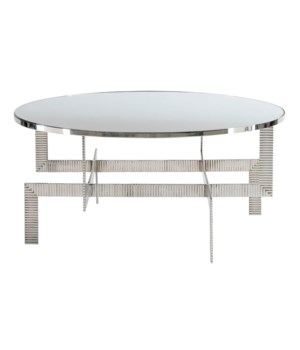 Tyra Round Cocktail Table