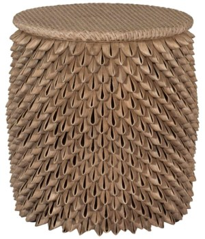 Ruffina Woven Accent Table