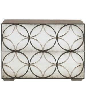 Valonia Mirrored Drawer Chest