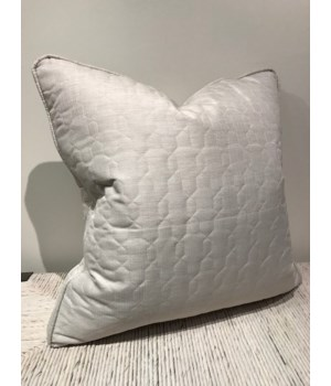 24 x 24 Large Box Border Pillow, Fabric 7040-0020 GR P
