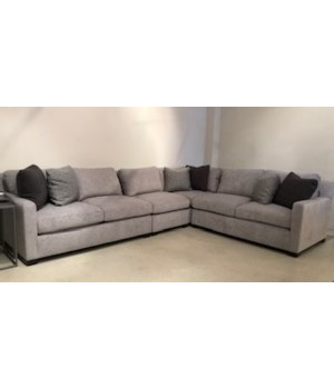 Kelsey 4 Pc Sectional, 1724-010, GR F, 751 Mocha