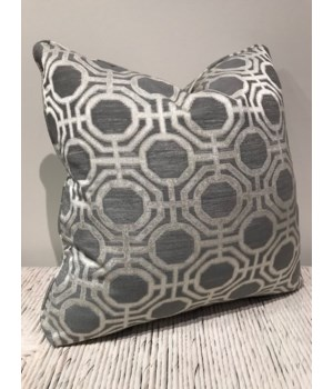 20 x 20 Pillow, Fabric 1486-011 GR F