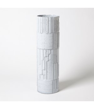 Urban Relief Cylinder Vase, Large