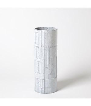 Urban Relief Cylinder Vase, Medium