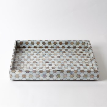 Mother of Pearl Tray, Large