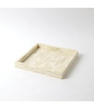 Chiseled Bone Tray, Small