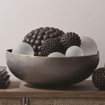 Laforge Metal Centerpiece Bowl