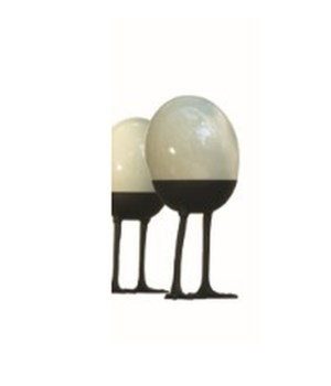 Ostrich Egg on Legs, Standing