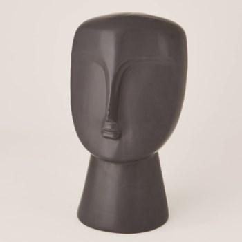 Modernist Bust, Matte Black