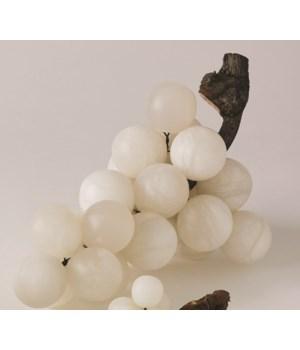 Bella Grapes, Alabaster, Large