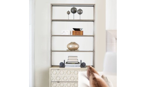 ETAGERES AND BOOKCASES