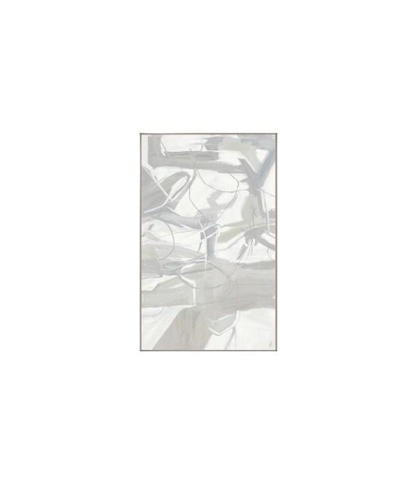36 x 58 S For Zando II, Glass Framed Custom, Frame 36PUN2623