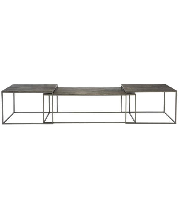 Eaton Nesting Cocktail Tables, Set of 3