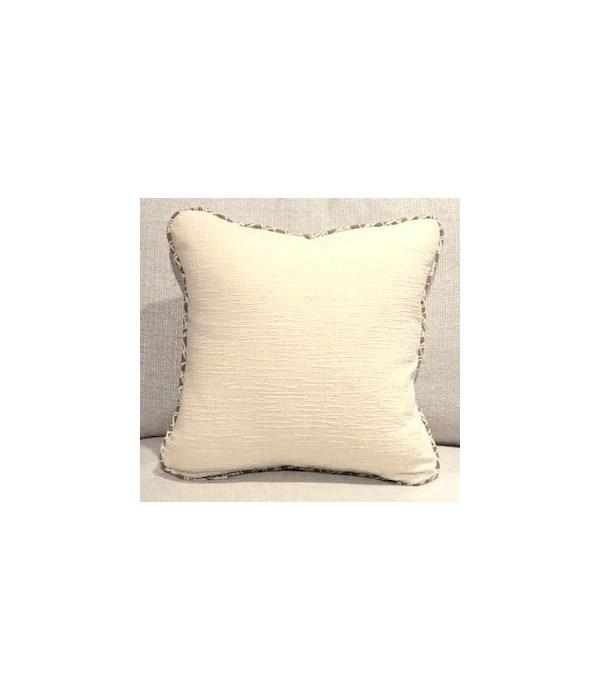 Throw Pillow, Duplic Canvas, Welt W372
