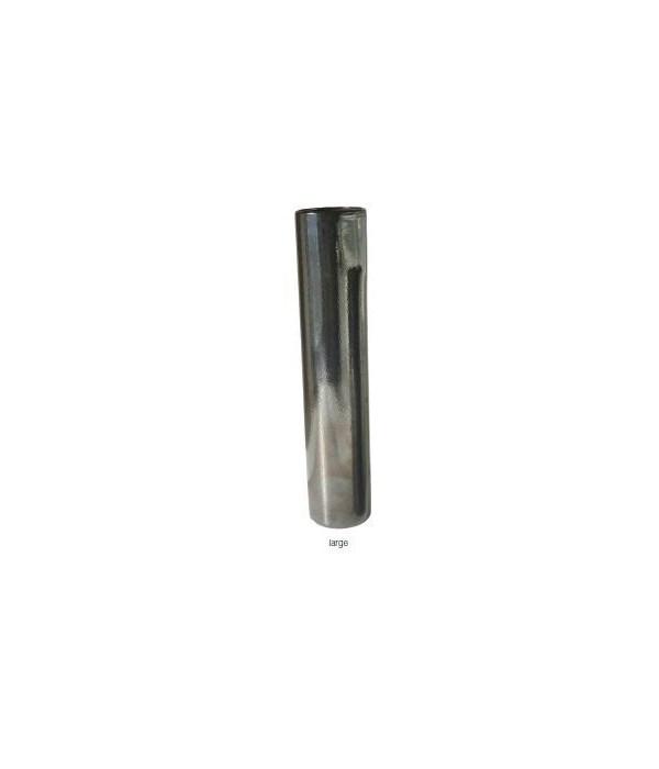 Tarnished Metallic Pillar Vase, Lg