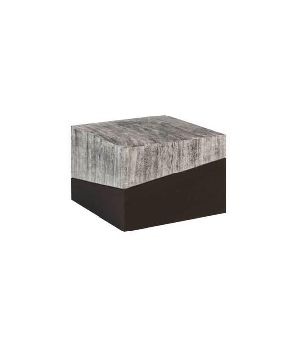 Geometry Coffee Table, Grey Stone