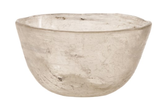 Sterling Glass Bowl