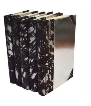 Metallic Hide-Black/Silver